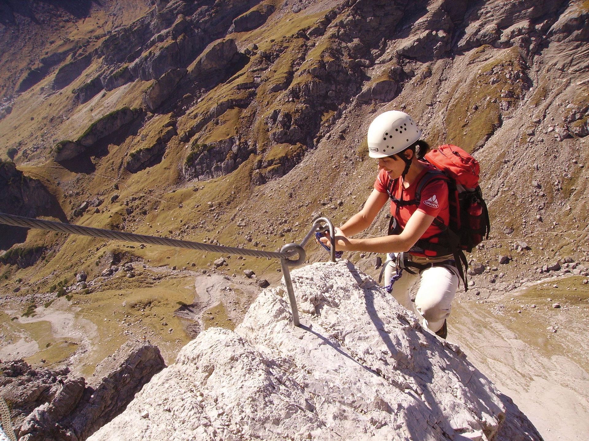 Klettersteig Equipment : Klettersteig schlegeis